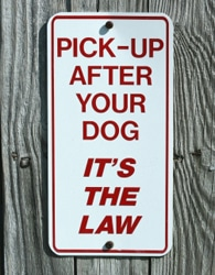 image Know the Law – Poop Scooping!