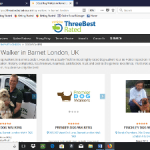Best Dog Walkers on London – Top Picks Jan 2018